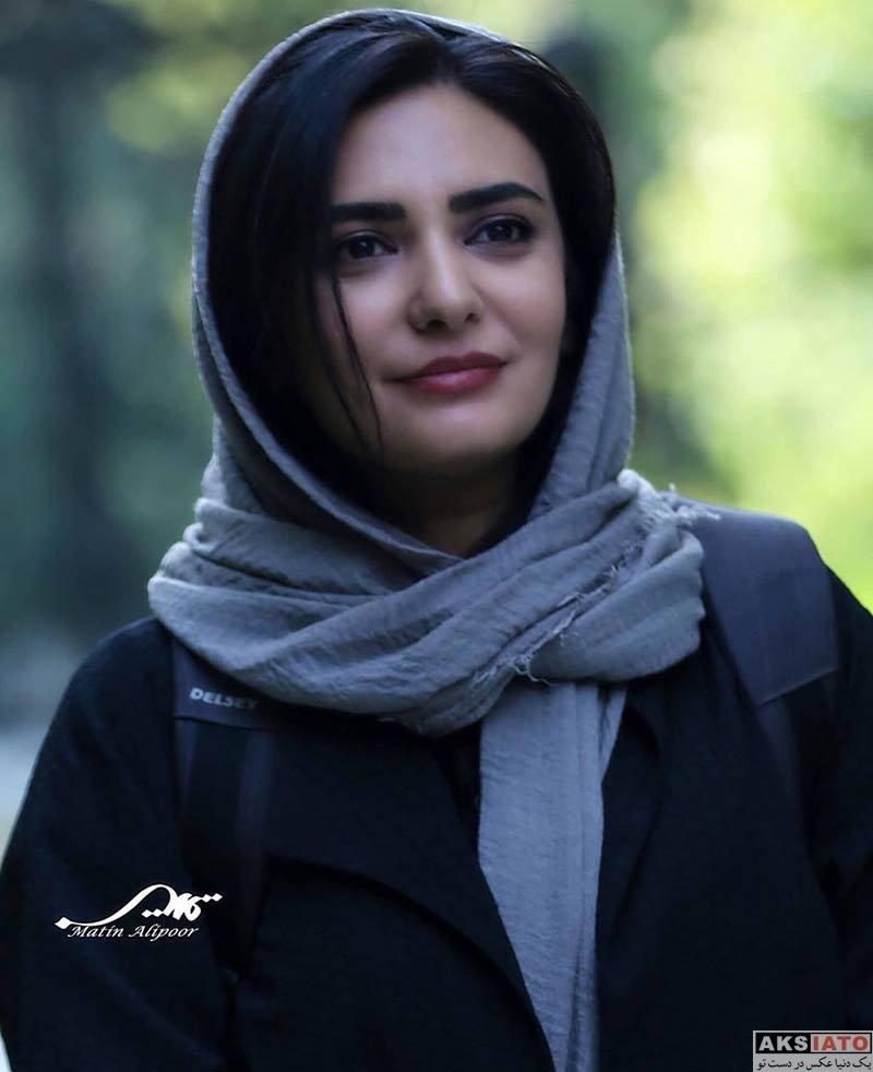 بازیگران بازیگران زن ایرانی  لیندا کیانی در اکران مردمی فیلم سینمایی رضا (۴ عکس)