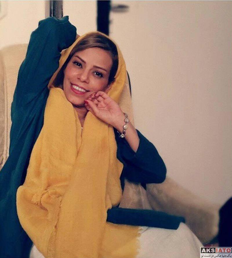 بازیگران بازیگران زن ایرانی  عکس های مهنوش صادقی همسر دوم مهدی هاشمی (6 تصویر)