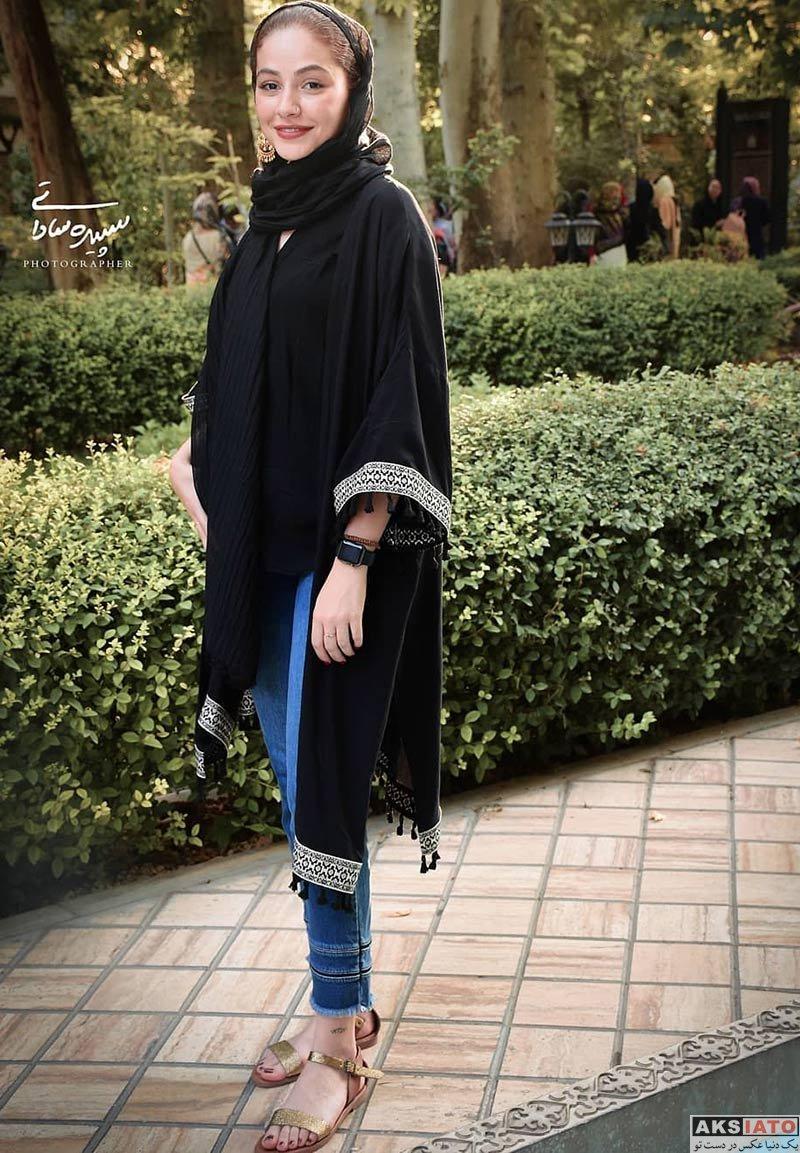 بازیگران بازیگران زن ایرانی  مهتاب ثروتی در اکران مردمی فیلم سینمایی رضا (3 عکس)