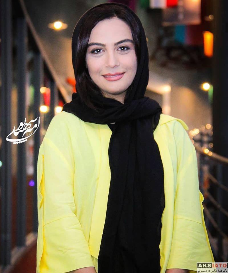 بازیگران بازیگران زن ایرانی  مارال فرجاد در روز سوم هفتمین جشنواره فیلم شهر (۳ عکس)