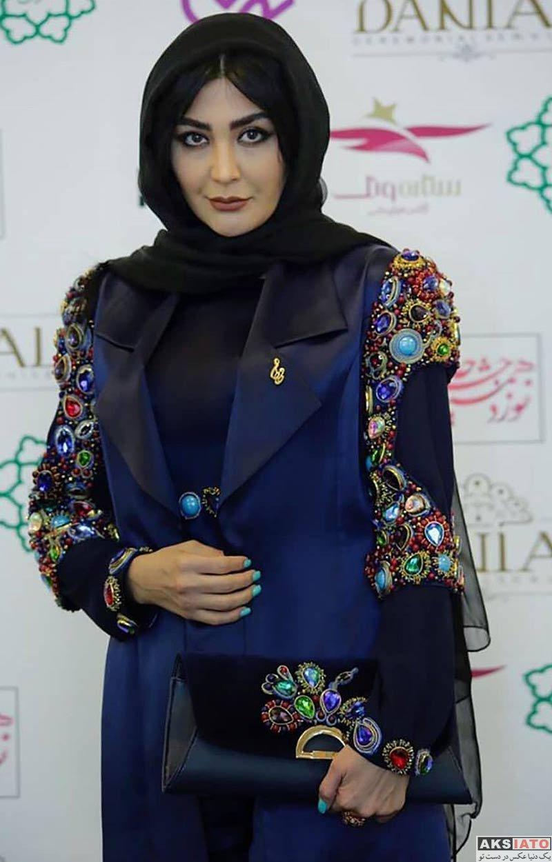 بازیگران بازیگران زن ایرانی جشن حافظ  مریم معصومی در نوزدهمین جشن حافظ (4 عکس)