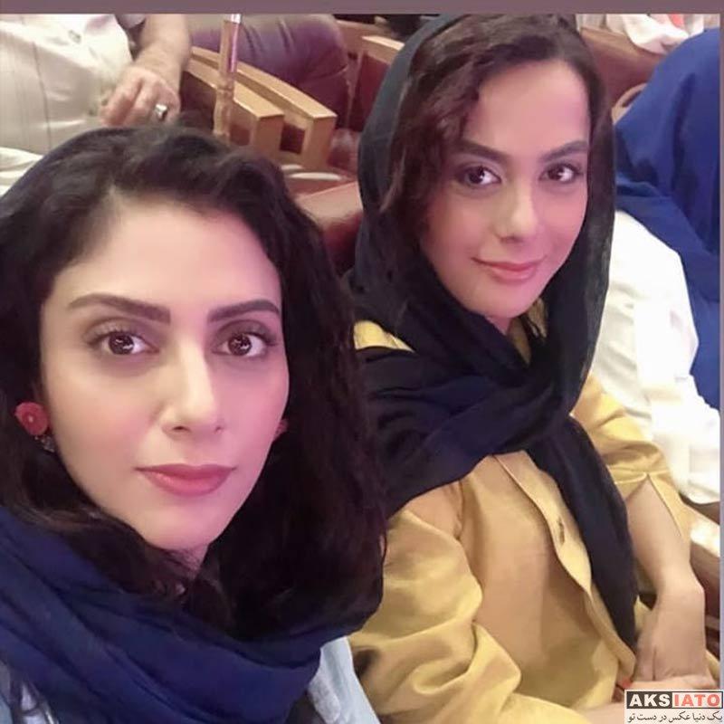 بازیگران بازیگران زن ایرانی جشن حافظ  مونا فرجاد در نوزدهمین جشن حافظ (2 عکس)
