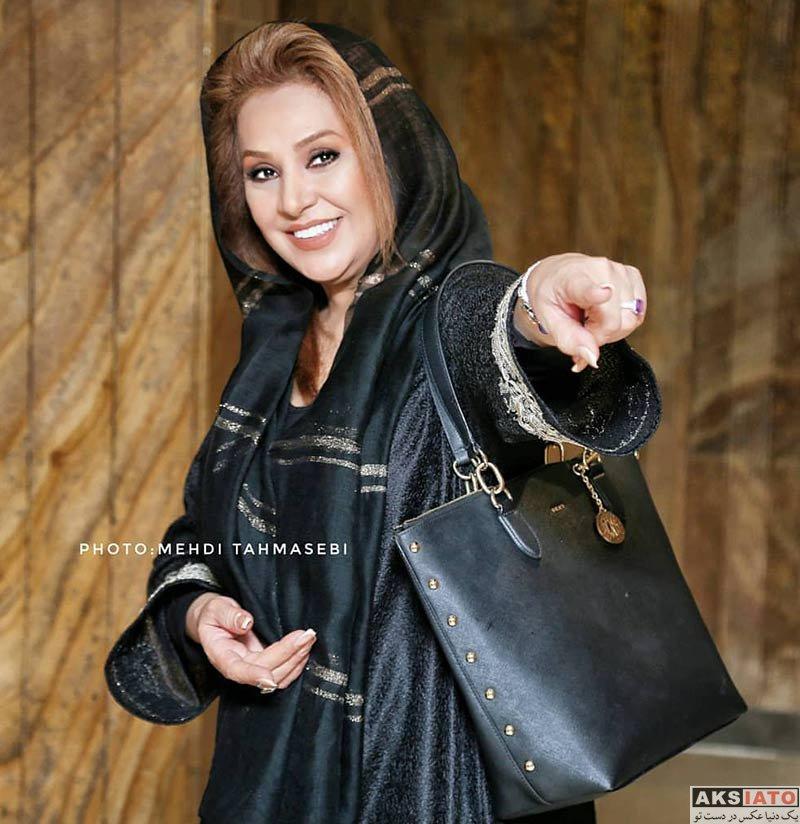 بازیگران بازیگران زن ایرانی  نسرین مقانلو در اکران خصوصی فیلم سینمایی نیوکاسل (۳ عکس)