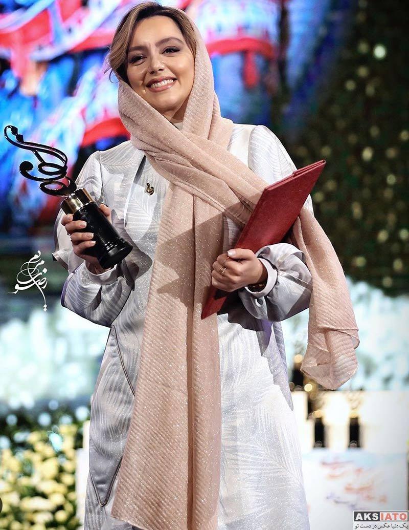 بازیگران بازیگران زن ایرانی جشن حافظ  نازنین بیاتی در نوزدهمین جشن حافظ (4 عکس)