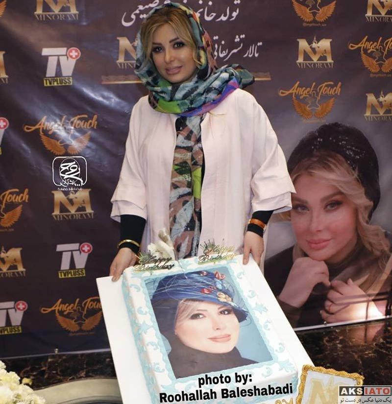 بازیگران جشن تولد ها  عکس های جشن تولد 39 سالگی نیوشا ضیغمی