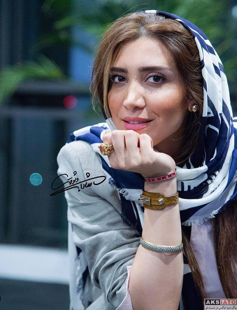 بازیگران بازیگران زن ایرانی  نیکی مظفری در اکران خصوصی فیلم سرخ پوست (۳ عکس)