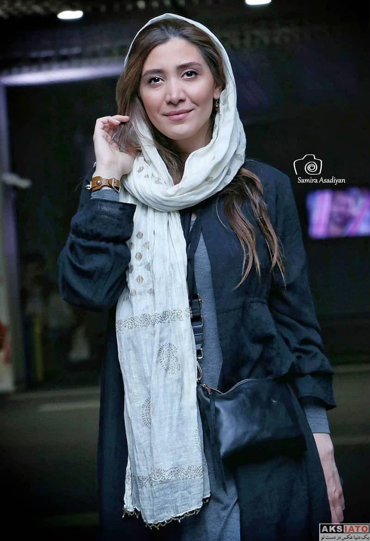 بازیگران بازیگران زن ایرانی  نیکی مظفری در اکران خصوصی فیلم قصر شیرین (۳ عکس)