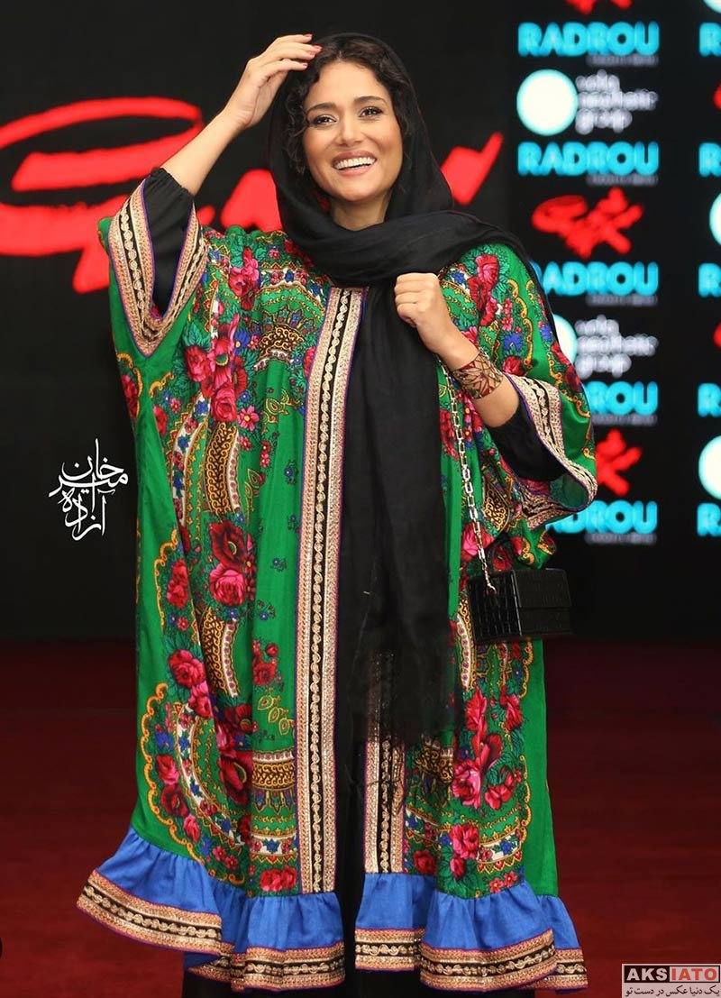 بازیگران بازیگران زن ایرانی  4 عکس پریناز ایزدیار در اکران خصوصی فیلم سرخ پوست