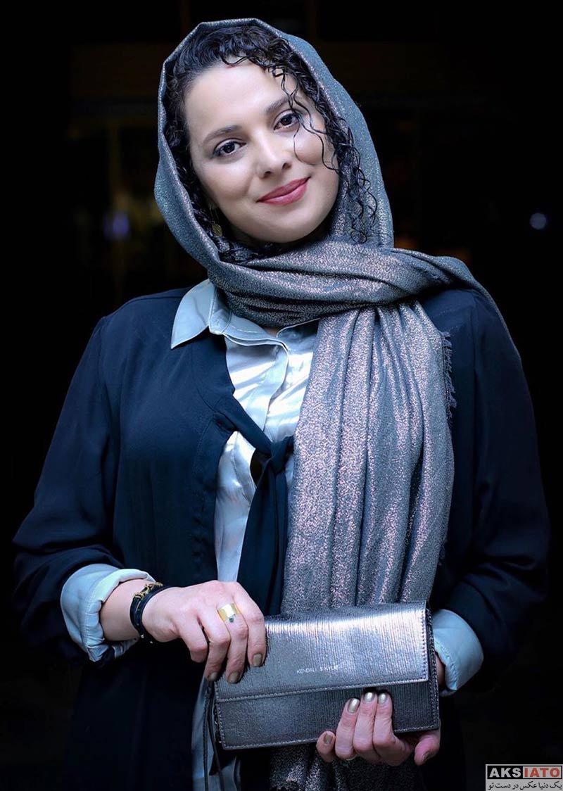 بازیگران بازیگران زن ایرانی  روشنک عجمیان در کنسرت نیما رئیسی (2 عکس)