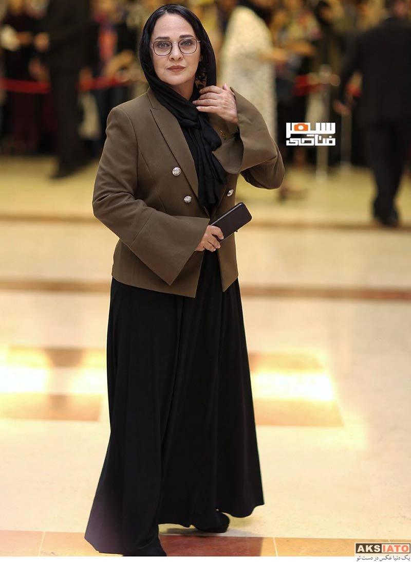 جشن حافظ خانوادگی  رویا نونهالی و همسرش در نوزدهمین جشن حافظ (3 عکس)