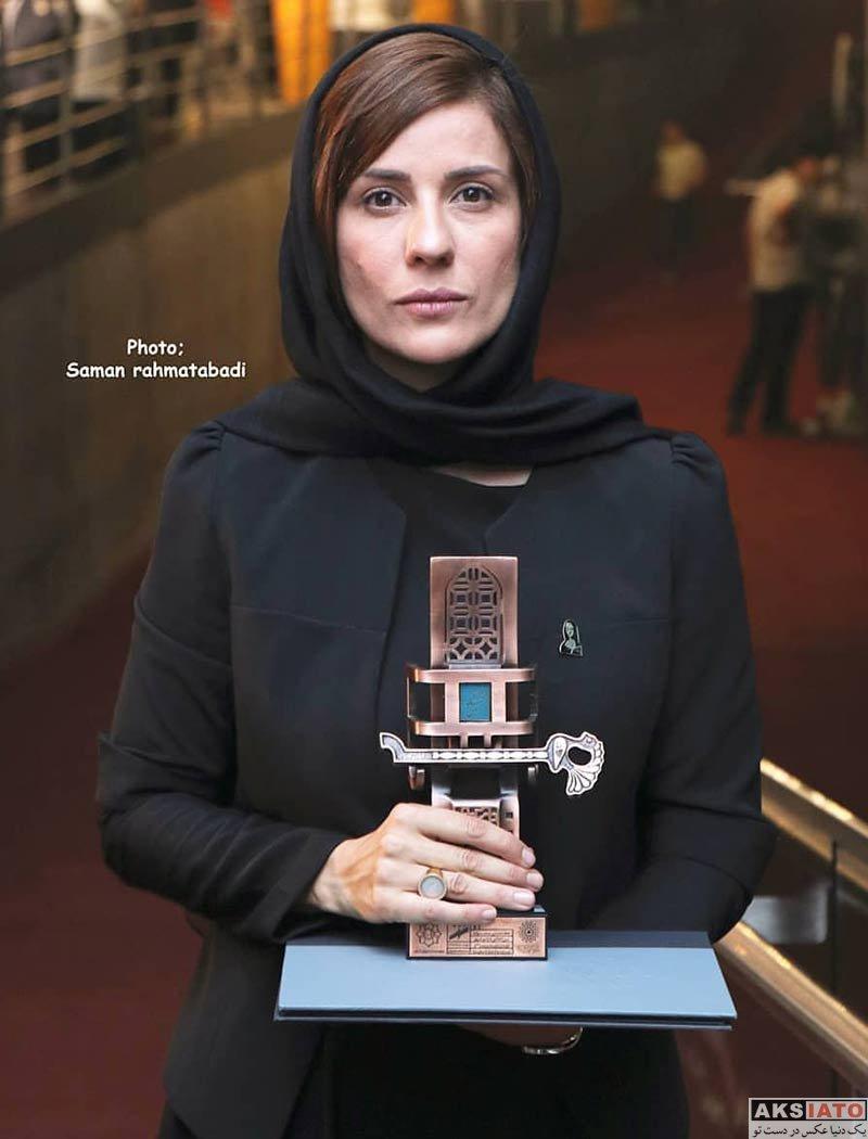 بازیگران بازیگران زن ایرانی  سارا بهرامی در افتتاحیه هفتمین جشنواره فیلم شهر (۴ عکس)