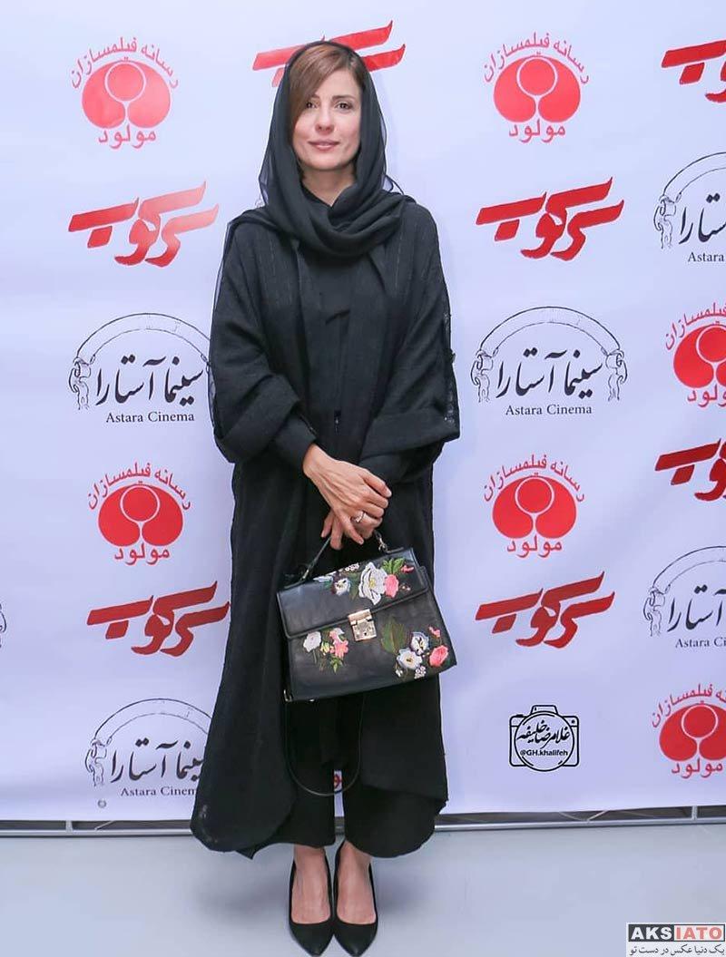 بازیگران بازیگران زن ایرانی  سارا بهرامی در اکران مردمی فیلم سرکوب (۴ عکس)
