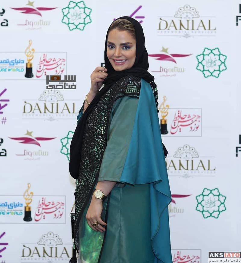 بازیگران بازیگران زن ایرانی جشن حافظ  سپیده خداوردی در نوزدهمین جشن حافظ (3 عکس)