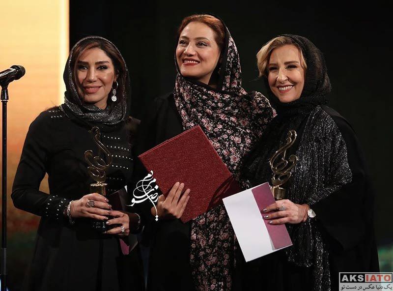 بازیگران بازیگران زن ایرانی جشن حافظ  شبنم مقدمی در نوزدهمین جشن حافظ (3 عکس)