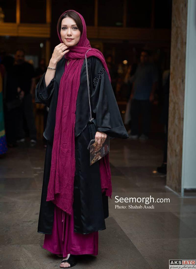 بازیگران بازیگران زن ایرانی  شهرزاد کمال زاده در کنسرت نیما رئیسی (۳ عکس)