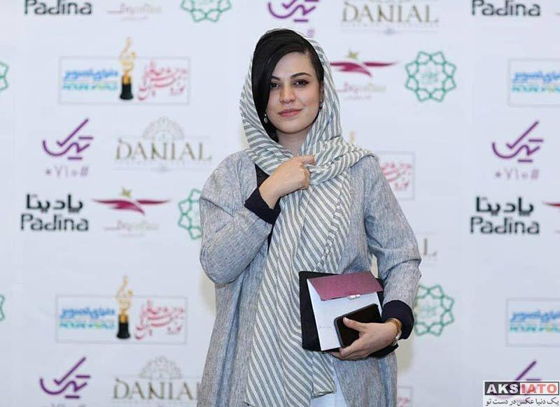 بازیگران بازیگران زن ایرانی جشن حافظ  شیدا خلیق در نوزدهمین جشن حافظ (3 عکس)