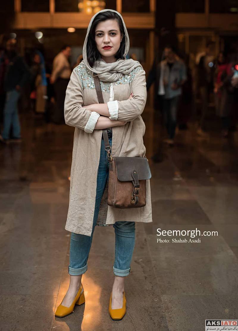 بازیگران بازیگران زن ایرانی  شیدا خلیق در کنسرت نیما رئیسی (۲ عکس)