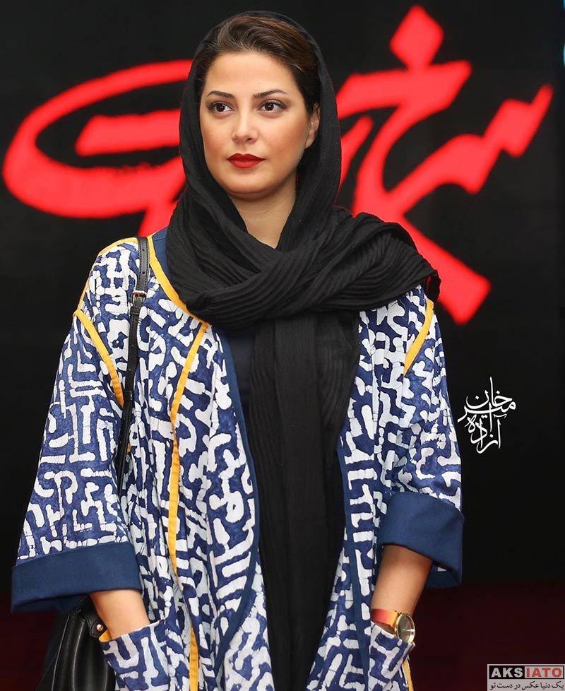 بازیگران بازیگران زن ایرانی  طناز طباطبایی در اکران خصوصی فیلم سرخ پوست (۳ عکس)