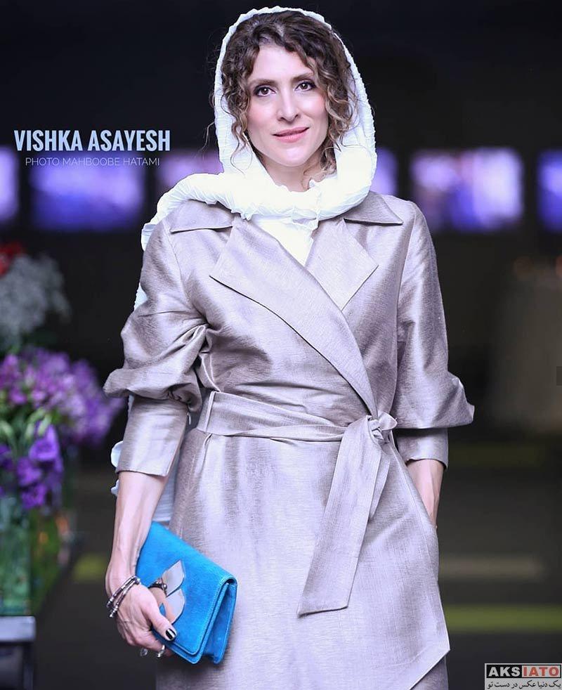 بازیگران بازیگران زن ایرانی  ویشکا آسایش در اکران خصوصی فیلم سرخ پوست (۳ عکس)
