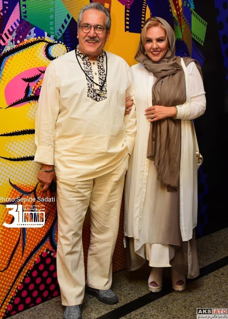 افسانه چهره آزاد در پنجمین جشن عکاسان سینمای ایران (۴ عکس) - عکسیاتو