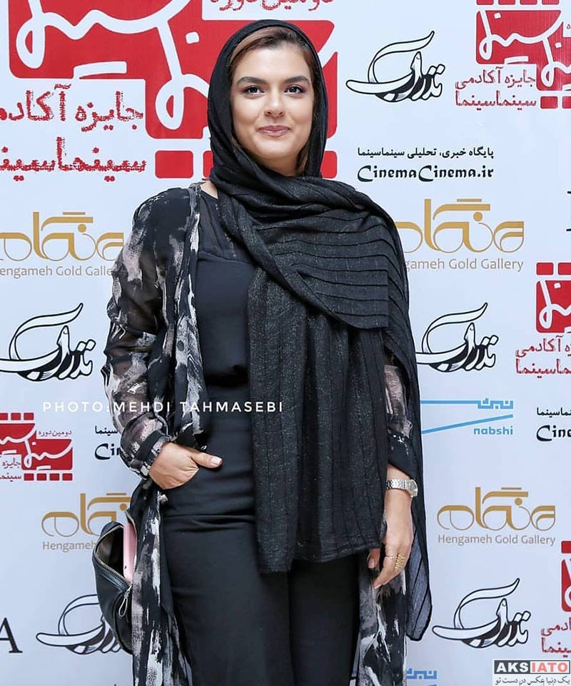 بازیگران بازیگران زن ایرانی  دنیا مدنی در دومین دوره جایزه آکادمی سینما سینما (3 عکس)