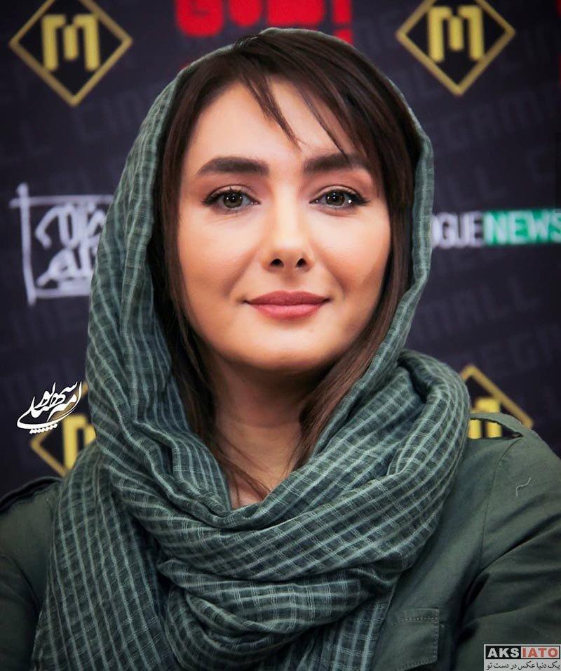 بازیگران بازیگران زن ایرانی  هانیه توسلی در اکران مردمی فیلم ایده اصلی (4 عکس)