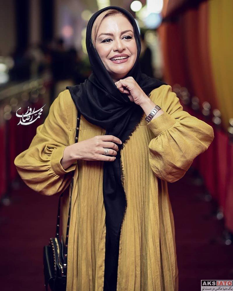 بازیگران بازیگران زن ایرانی  مریلا زارعی در اکران خصوصی سریال مانکن (4 عکس)