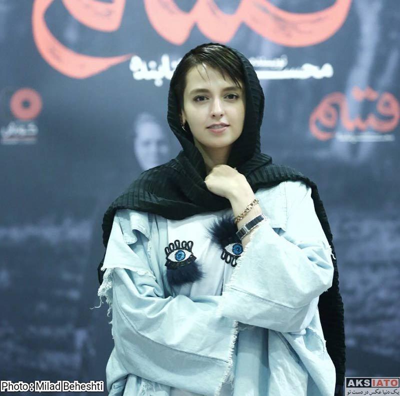 بازیگران بازیگران زن ایرانی  نازنین فلاحی در اکران مردمی فیلم قسم (2 عکس)
