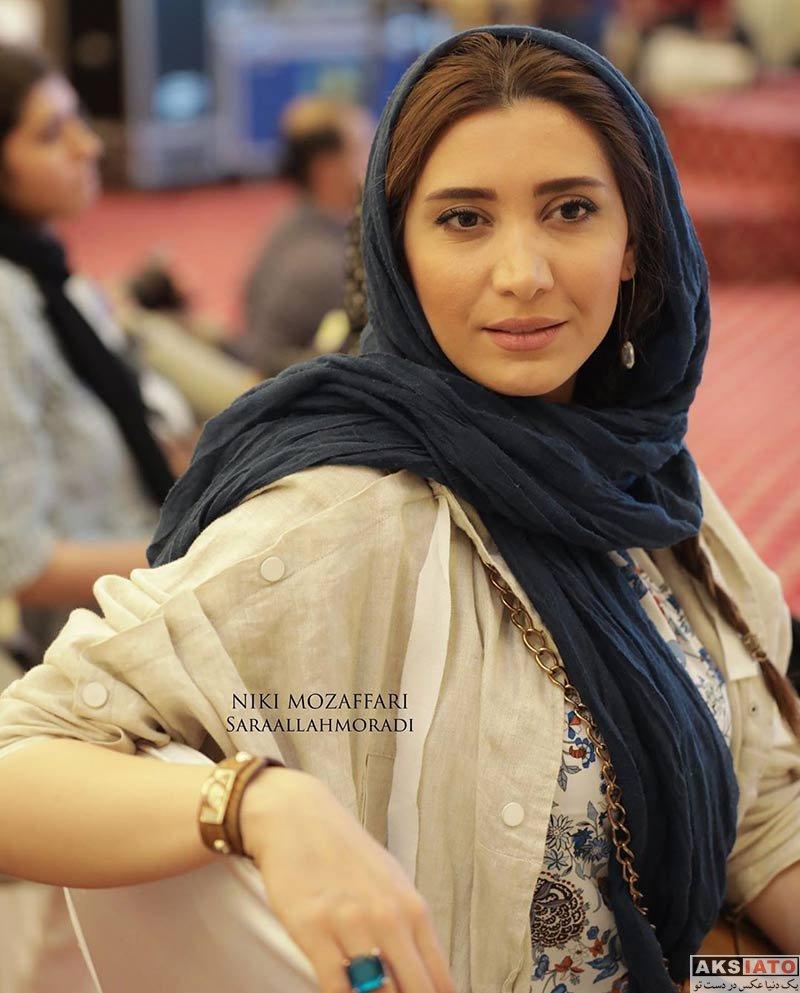 بازیگران بازیگران زن ایرانی  نیکی مظفری در دومین دوره جایزه آکادمی سینما سینما (۴ عکس)