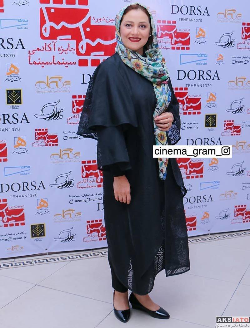 بازیگران بازیگران زن ایرانی  شبنم مقدمی در دومین دوره جایزه آکادمی سینما سینما (۴ عکس)