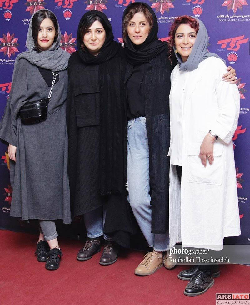 بازیگران بازیگران زن ایرانی  عکس های باران کوثری در اکران مردمی فیلم سینمایی «سرکوب»
