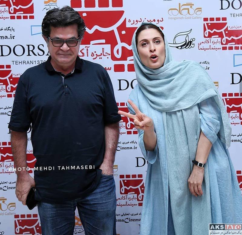 بازیگران بازیگران زن ایرانی  بهناز جعفری در دومین دوره جایزه آکادمی سینما سینما (۴ عکس)