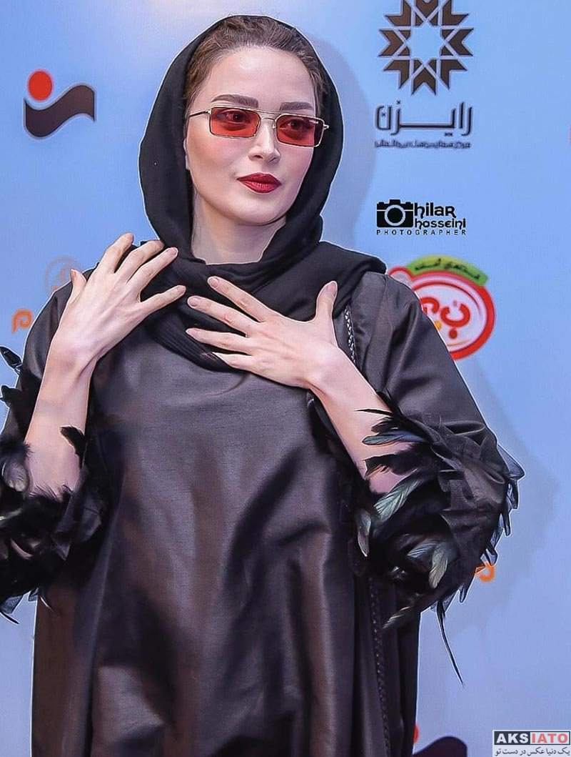 بازیگران بازیگران زن ایرانی  بهنوش طباطبایی در پنجمین جشن عکاسان سینمای ایران (6 عکس)