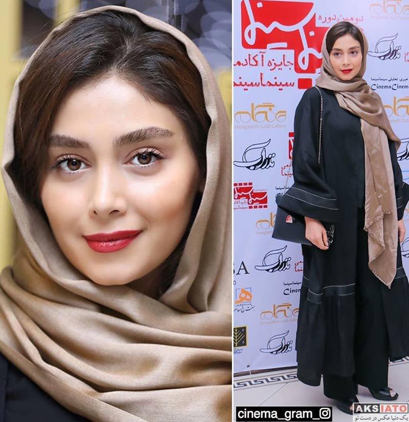 بازیگران بازیگران زن ایرانی  دیبا زاهدی در دومین دوره جایزه آکادمی سینما سینما (۴ عکس)