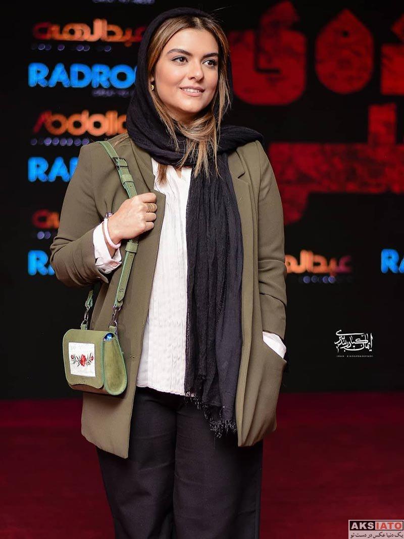 بازیگران بازیگران زن ایرانی  دنیا مدنی در اکران خصوصی فیلم ایده اصلی (4 عکس)