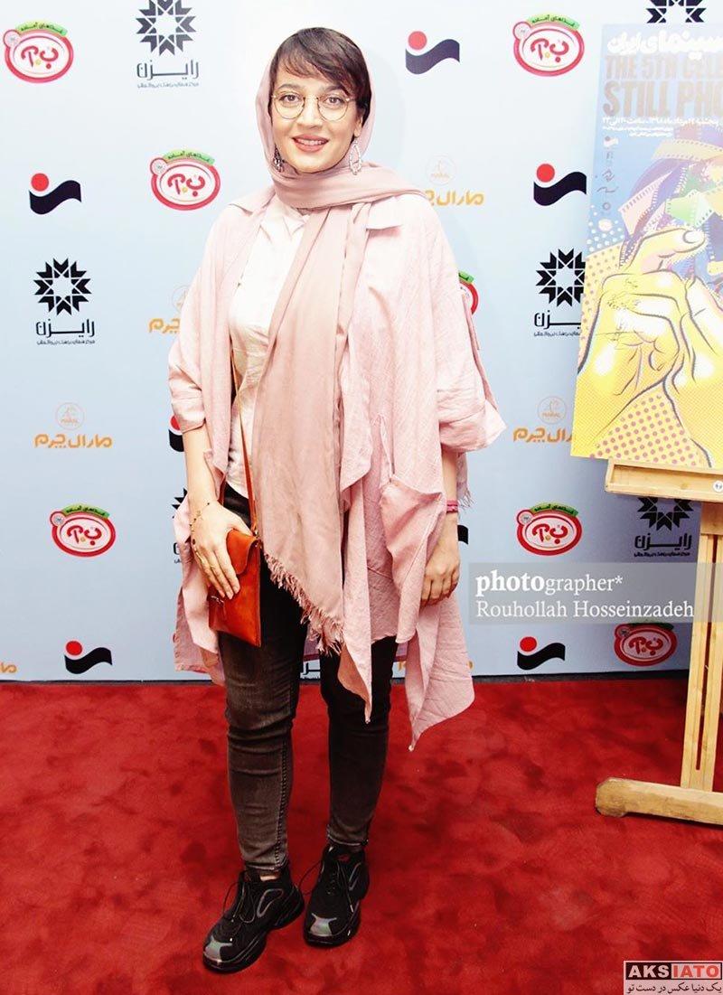 بازیگران بازیگران زن ایرانی  الهام نامی در پنجمین جشن عکاسان سینمای ایران (3 عکس)
