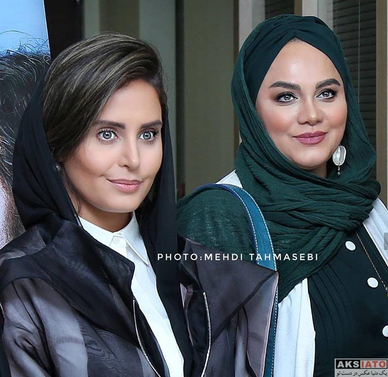 بازیگران بازیگران زن ایرانی  الناز شاکردوست و هنرمندان در اکران فیلم شبی که ماه کامل شد (6 عکس)