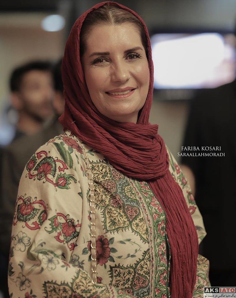 بازیگران بازیگران زن ایرانی  فریبا کوثری در پنجمین جشن عکاسان سینمای ایران (3 عکس)