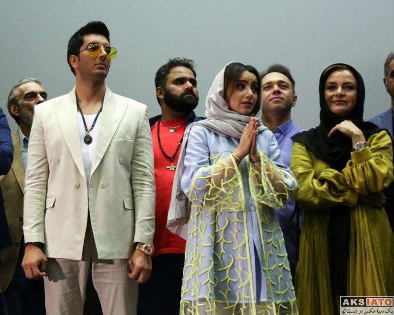خوانندگان  فرزاد فرزین در اکران خصوصی سریال مانکن (۳ عکس)