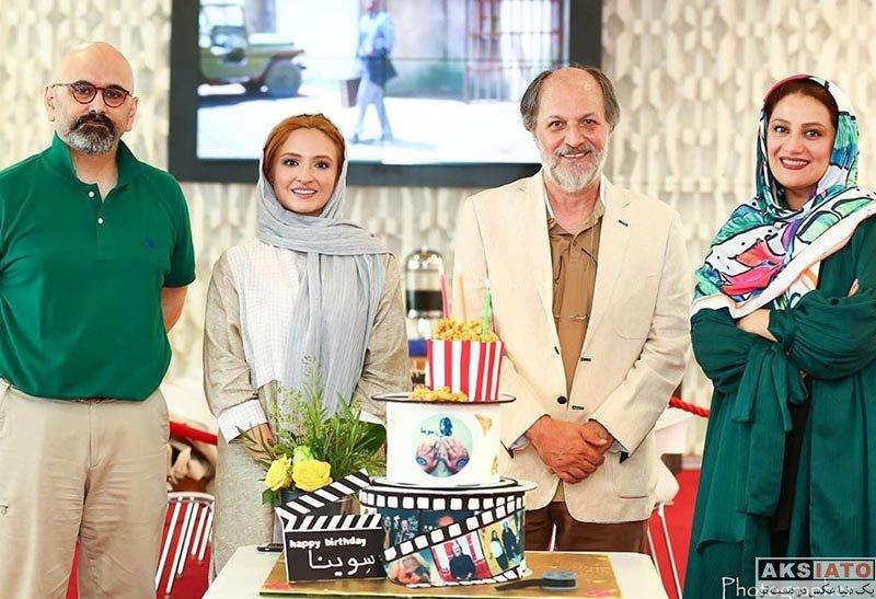 بازیگران بازیگران زن ایرانی  گلاره عباسی در جشن تولد امین تارخ (4 عکس)