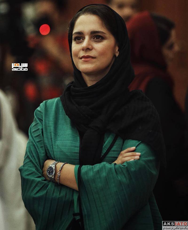 بازیگران بازیگران زن ایرانی  غزل شاکری در دومین دوره جایزه آکادمی سینما سینما (۳ عکس)