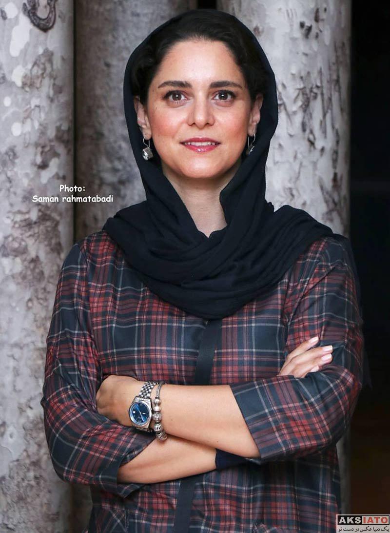 بازیگران بازیگران زن ایرانی  غزل شاکری در اکران مستند میدان جوانان سابق (3 عکس)