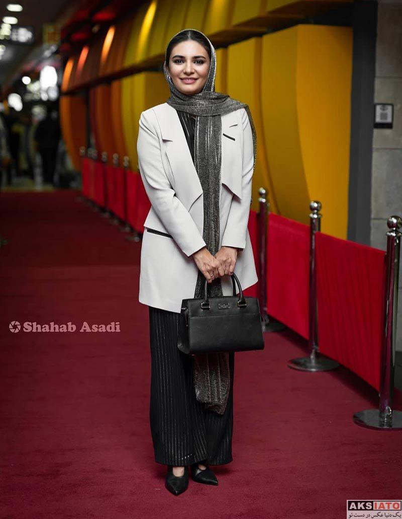 بازیگران بازیگران زن ایرانی  لیندا کیانی در اکران خصوصی سریال مانکن (۴ عکس)