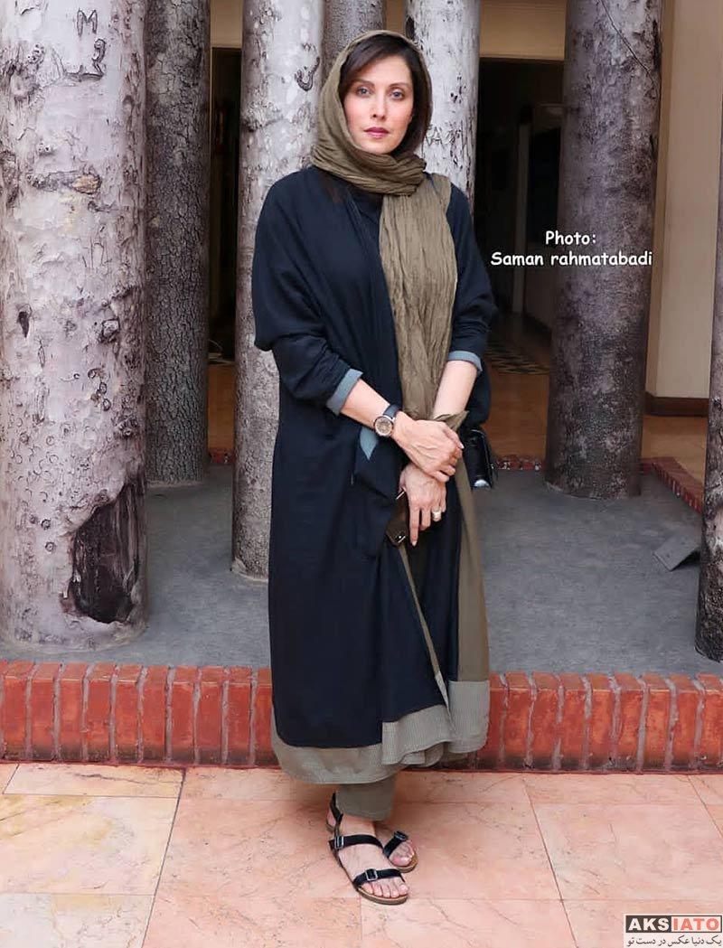 بازیگران بازیگران زن ایرانی  مهتاب کرامتی در اکران مستند میدان جوانان سابق (۳ عکس)