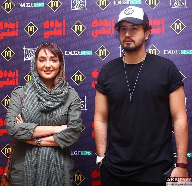 بازیگران بازیگران زن ایرانی  مهرداد صدیقیان در اکران مردمی فیلم ایده اصلی (2 عکس)