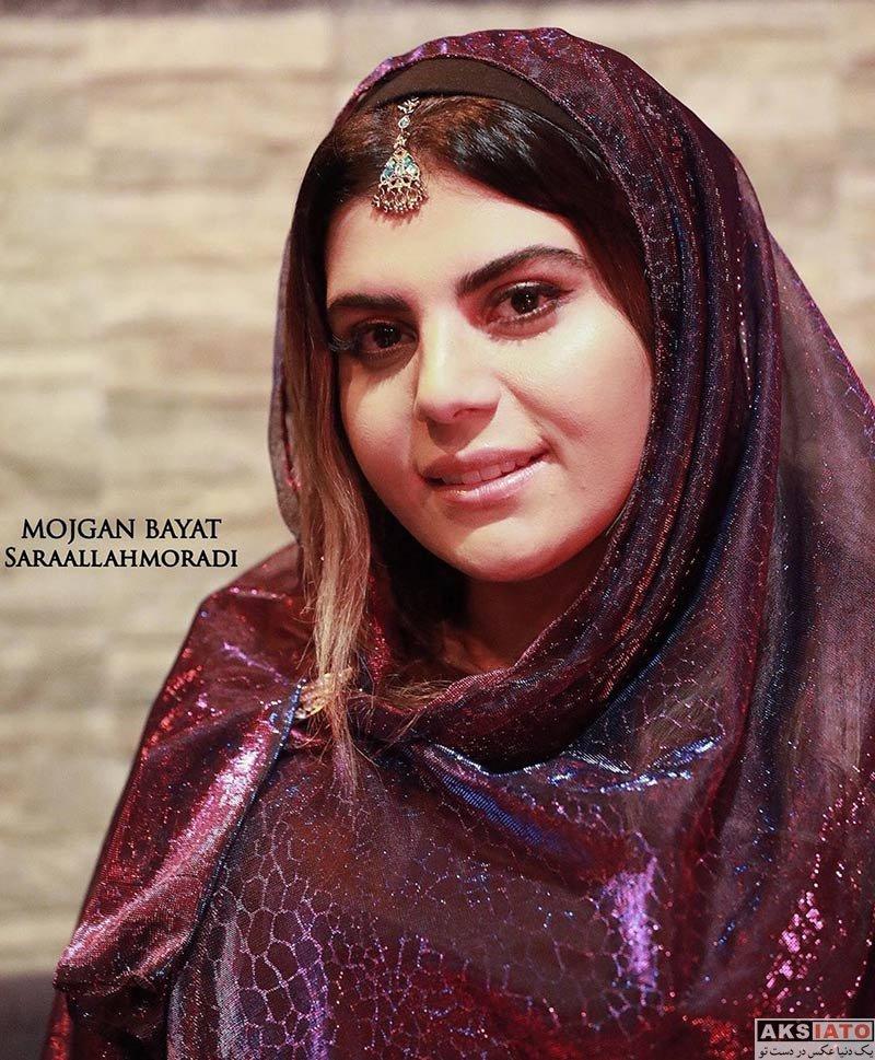 بازیگران بازیگران زن ایرانی  مژگان بیات در اکران مردمی فیلم سنمایی جانان (4 عکس)