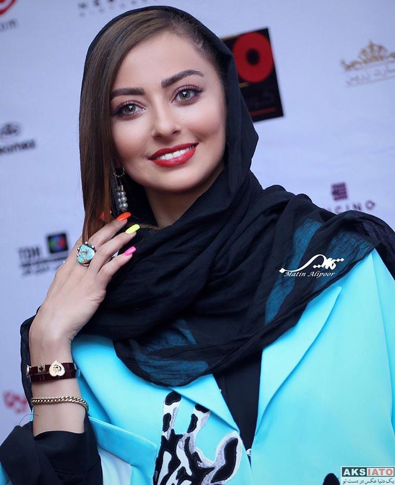 بازیگران بازیگران زن ایرانی  نفیسه روشن در اکران خصوصی سریال مانکن (۴ عکس)