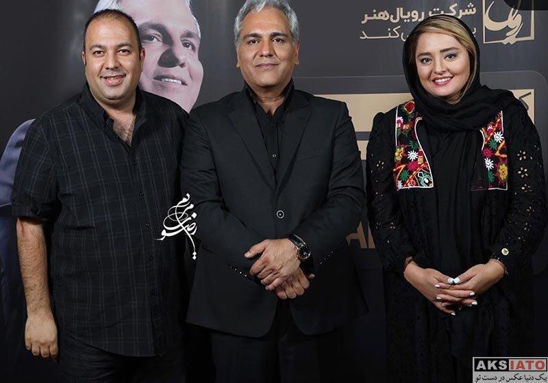 خانوادگی  نرگس محمدی و همسرش در کنسرت مهران مدیری (3 عکس)
