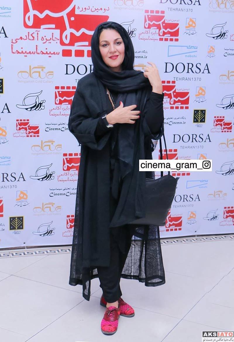 بازیگران بازیگران زن ایرانی دستهبندی نشده  ستاره اسکندری در دومین دوره جایزه آکادمی سینما سینما (۴ عکس)