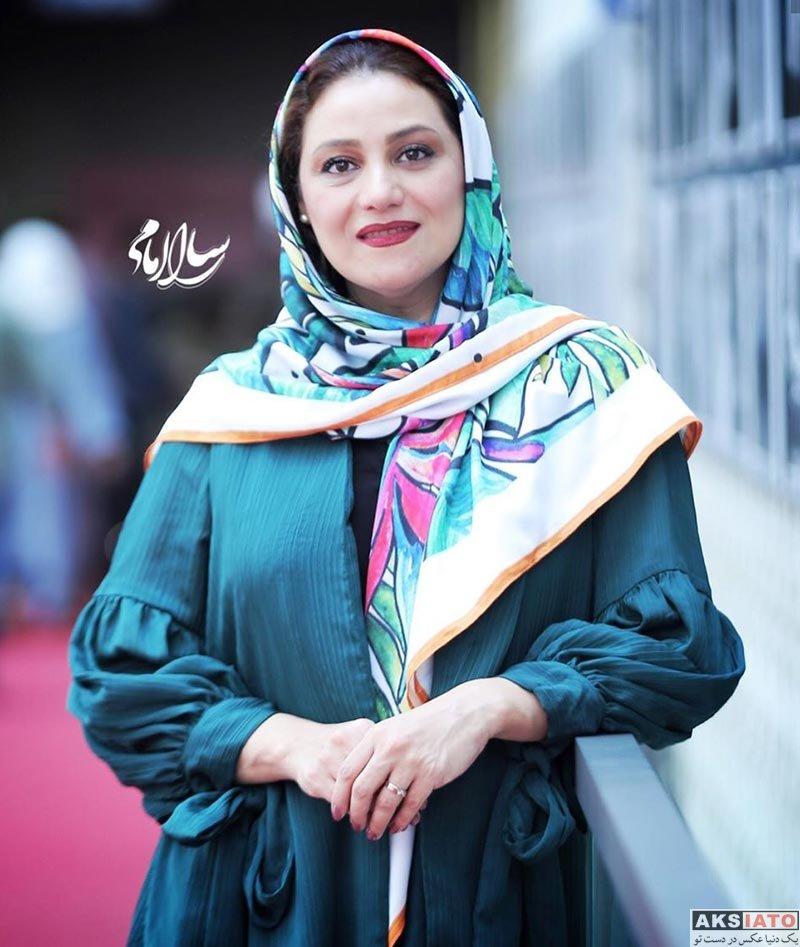 بازیگران بازیگران زن ایرانی  شبنم مقدمی در جشن تولد امین تارخ (۴ عکس)